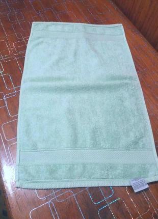 Махровое полотенце для лица 35см на58см