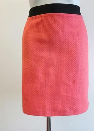 🌿красивая натуральная летняя юбка от warehouse