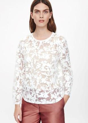 Необычная блуза cos