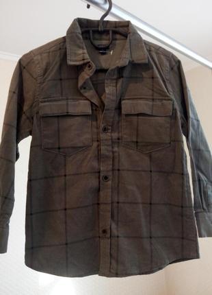 Рубашка для мальчика kiabi ( франция ) 5 лет