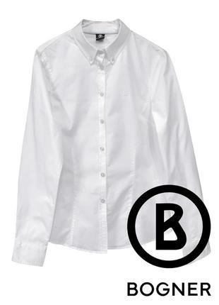Оригинальная классическая белая рубашка bogner