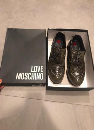 Туфли moschino