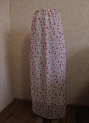 Самая женственная юбка в пол! с