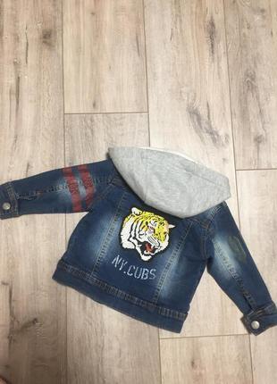 Нереально крутая джинсовая куртка
