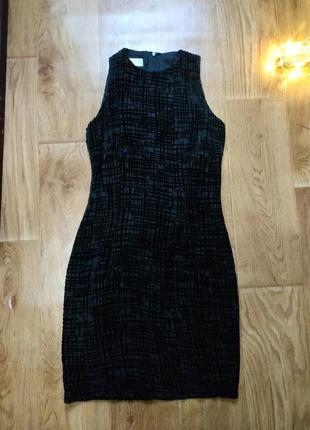 """Последняя цена!шикарное """"маленькое чёрное платье"""" ! шёлк/вискоза!!"""