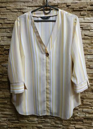 Красивая свободная блузка f&f