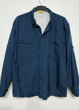 Xl xxl 52 54 сост нов royal robbins куртка ветровка синяя