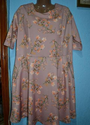 Платье 20uk,гарненька суконочка в квітковий принт