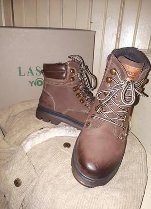 Шикарные ботинки 33 р. для мальчика!кожа!lasocki5 фото