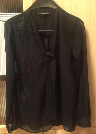 Эффектная блуза zara