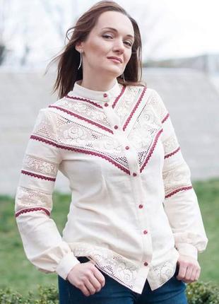 Елегантная блуза этно