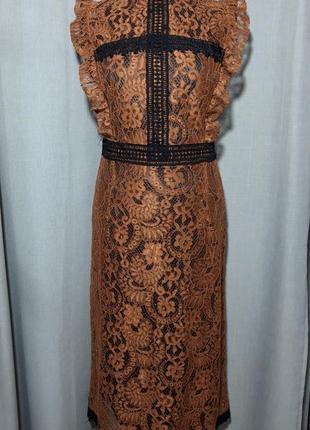 Кружевное красивое платье,  y two, италия