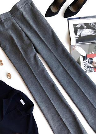Плотные тёплые брюки love moschino
