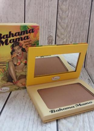 Бронзатор thebalm bahama mama 7.08 г, бронзер bahama mama, бронзер багама мама
