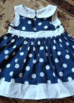 Платье на девочку 3-6 месяцев