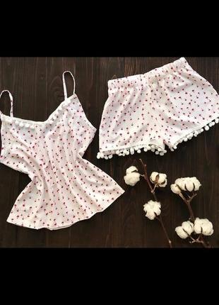 Пижама шорты и майка
