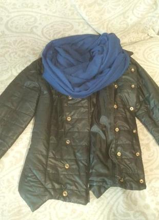 Куртка черная, куртка демисезоная, куртка осенняя, куртка весенняя