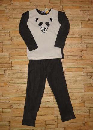 Оригинальный, флисовый костюм панда
