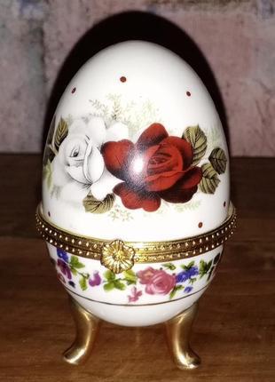 Яйцо-шкатулка