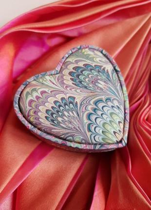 Сердечко шкатулка сувенир с италии с флоренции