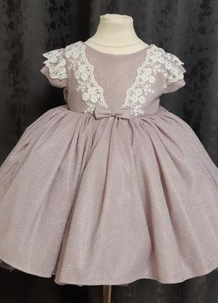 Детское платье. пышное детское платье. платье на годик1 фото
