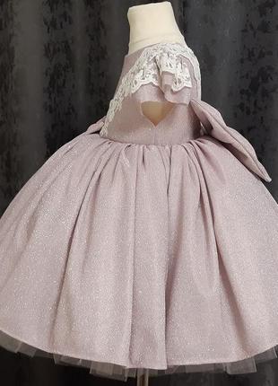 Детское платье. пышное детское платье. платье на годик2 фото