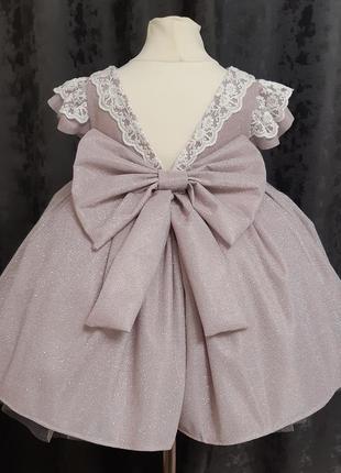 Детское платье. пышное детское платье. платье на годик3 фото