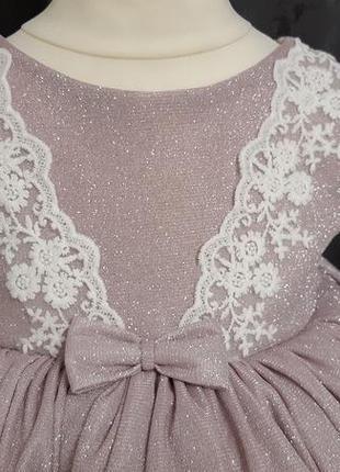 Детское платье. пышное детское платье. платье на годик4 фото