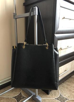 Класична сумка parfois (стан нової) з золотою фурнітурою