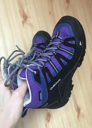 Мембранные ботинки quechua novadry