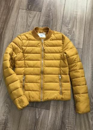 Куртка дутая пуфер зефир пуховик