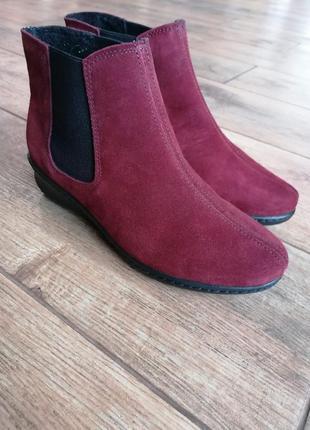 Ботинки осенние челси. кожа inblu.