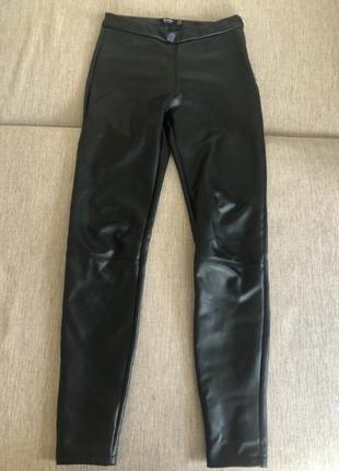 Штаны брюки лосины леггинсы кожа джеггигсы
