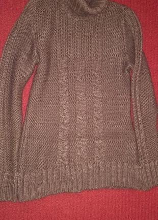 Терлый свитер с горлом trikobakh