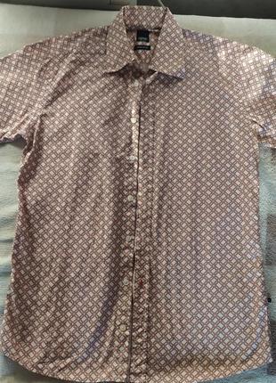 Сорочка рубашка на короткий рукав