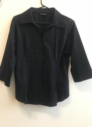 Классическая чёрная рубашка dorothy perkins p.16/44 #14