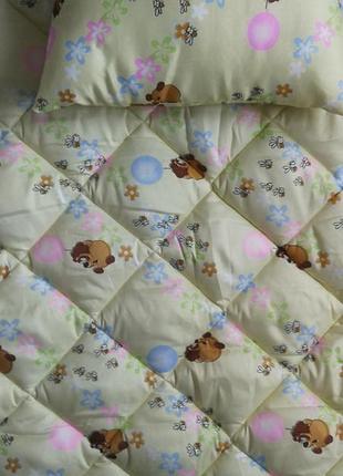 Одеяло и подушка детские  - ковдра і подушка дитячі