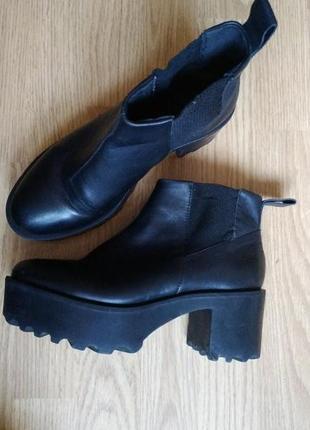 Ботильоны ботинки челси