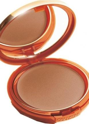Компактная пудра -бронзер collistar tanning compact powder spf6 тестер