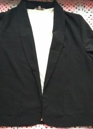 Пиджак без пуговиц new look