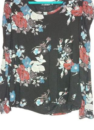 Блузка с рукавом фонарик р.xxl