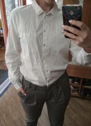 Рубашка классическая базовая
