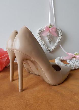 Женские туфли лодочки на шпильке, бежевые, эко кожа. vices 35,36,391 ... 344c63ebf99