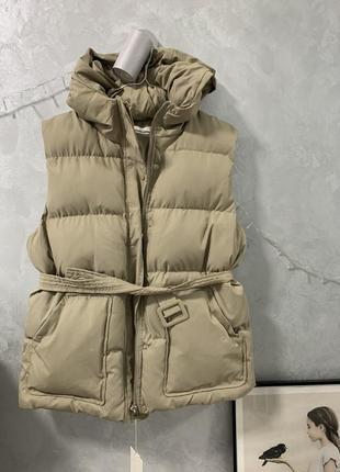 Жилетка куртка в стиле ienki ienki оверсайз безрукавка