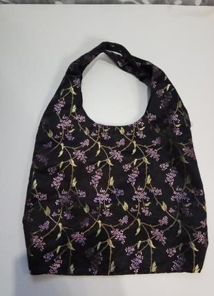 Atmosphere сумка шоппер с вышивкой