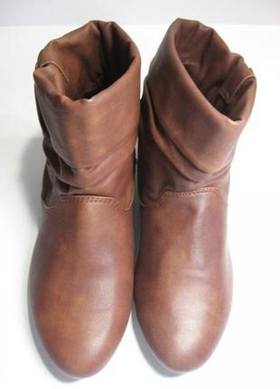 Сапожки, ботинки испан. бренда pull and bear.