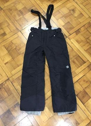 Женские/детские лыжные штаны брюки quechua decathlon