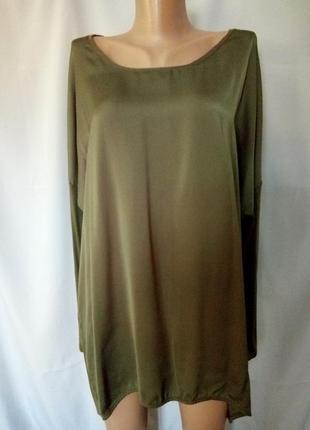 Стильная блуза, оверсайз  №7bp