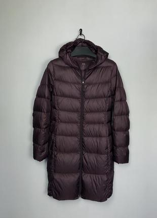 Куртка подовжена пухова жіноча uniqlo