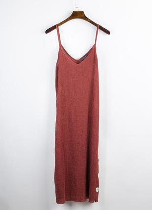 Длинный сарафан в пол, сарафан в бельевом стиле, длинное платье в бельевом стиле